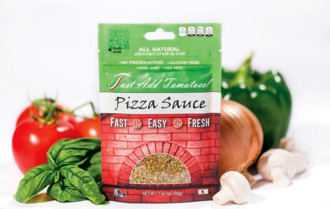 Just Add Tomatoes Pizza Sauce Seasoning Mix