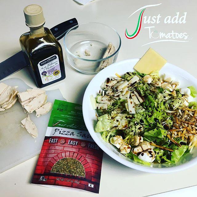Just Add Tomatoes Pizza Sauce Seasoning Mix Salad