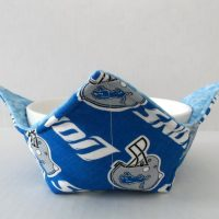 Detroit Lions Microwave Bowl Holder Cozy Hot Pad
