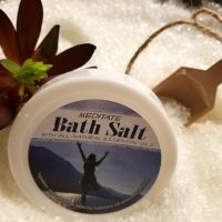 Meditate Bath Salts All Natural