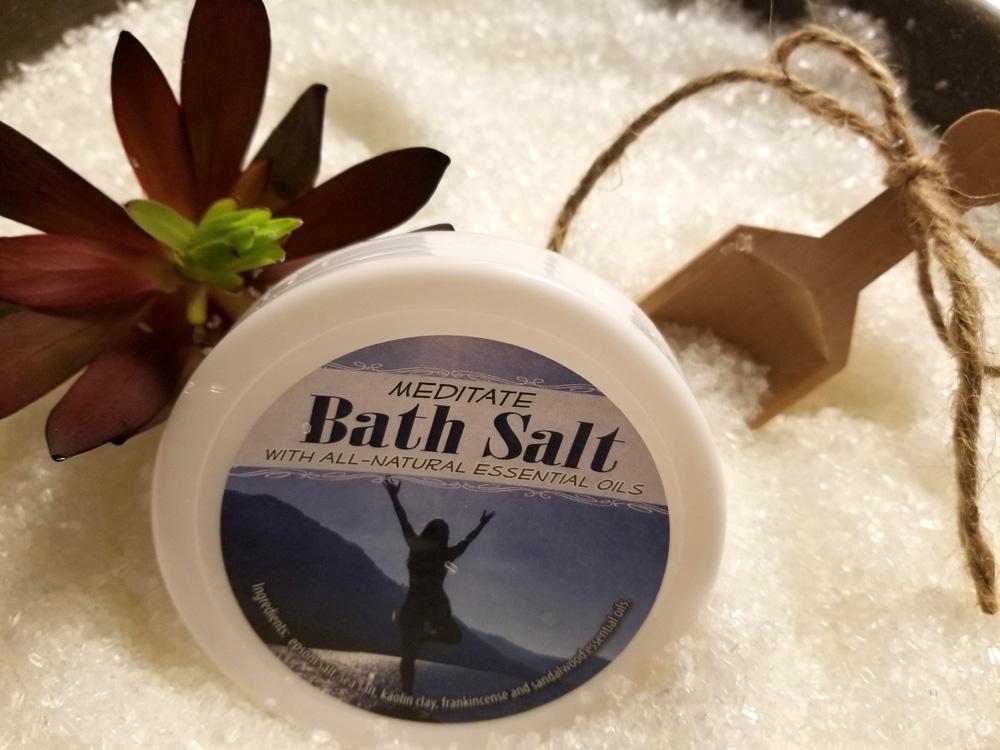 Meditate Bath Salts All Natural