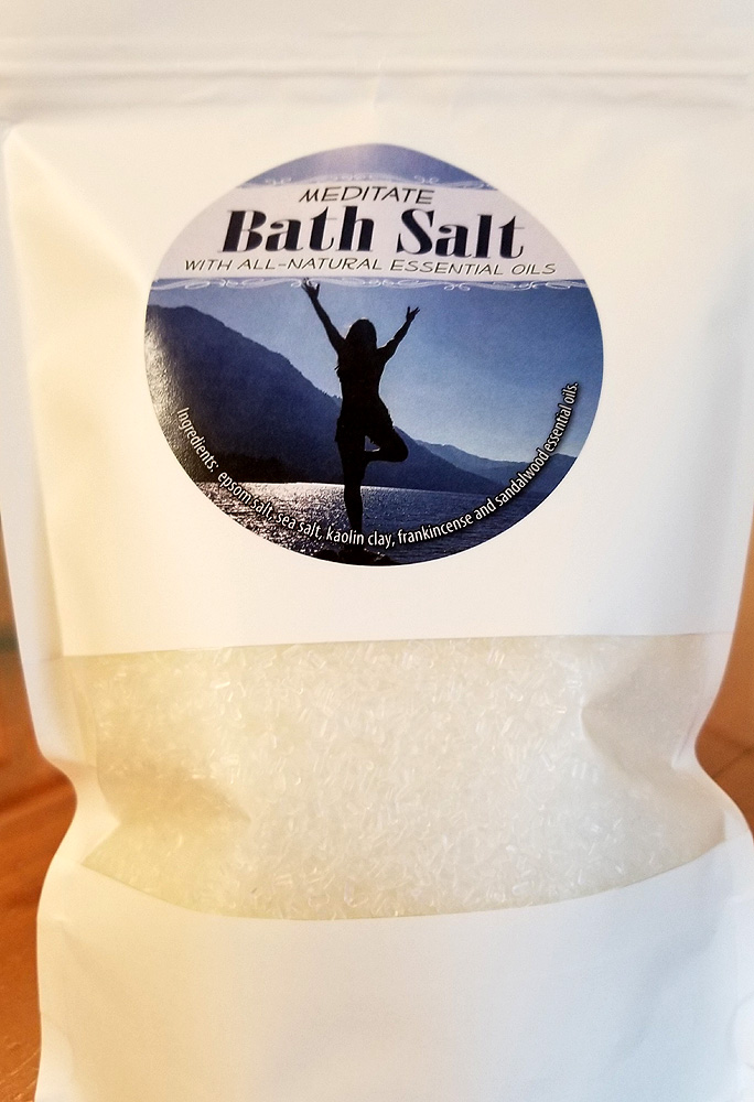 All Natural Meditate Bath Salts