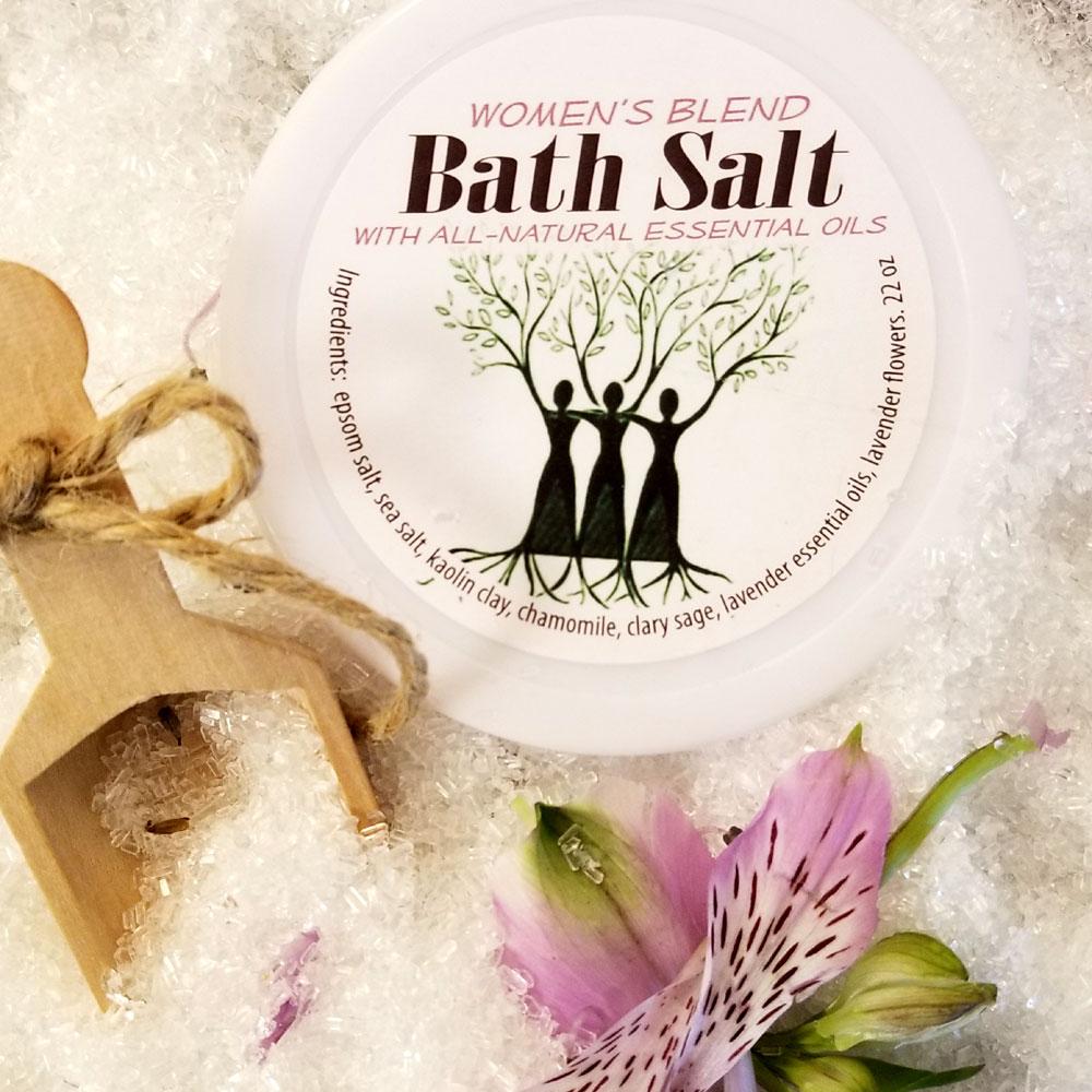 Womens Blend Bath Salts All Natural