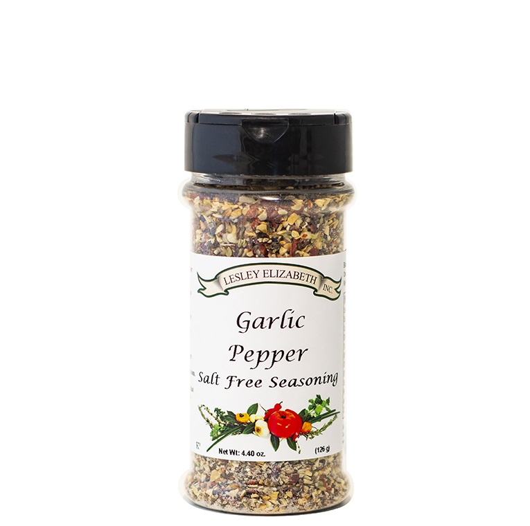 Garlic Pepper Salt Free Seasoning