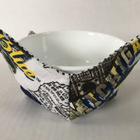 Michigan Microwave Bowl Holder Cozy