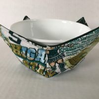 Michigan State Microwave Bowl Holder Cozy Hot Pad