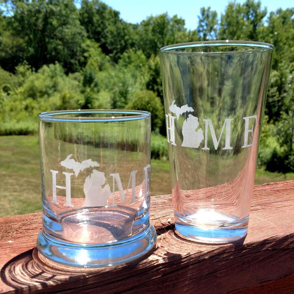 Michigan Home Glassware