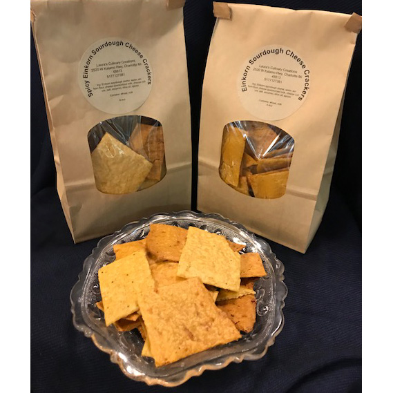 Eichorn Sourdough Cheese Crackers