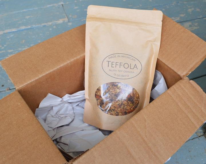 Teffola packaged