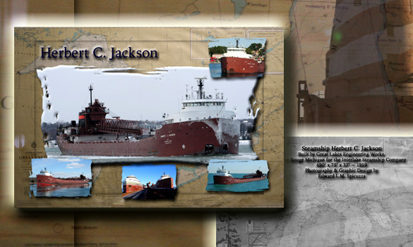 Nautical Postcard Set Herbert C Jackson Ship