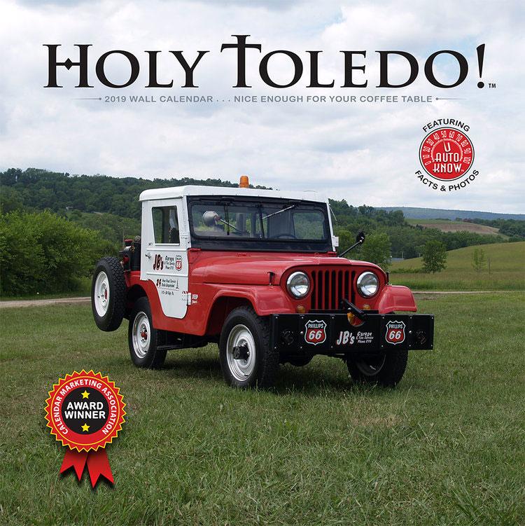 Holy Toledo! 2019 Jeep Calendar