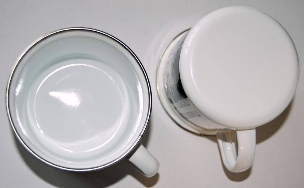 Photo Camp Mug Enameled Stainless Bottom