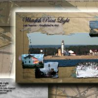Nautical Postcard Set Whitefish Point Lighthouse Postcard