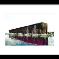 Lower Harbor Ore Dock At Marquette Michigan Print