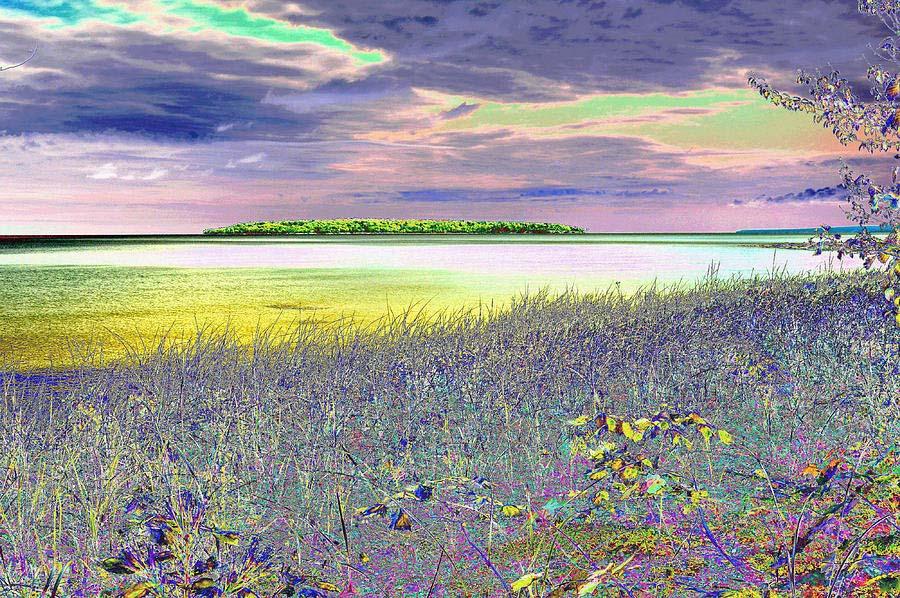 Au Train Island Lake Superior Michigan Wall Art