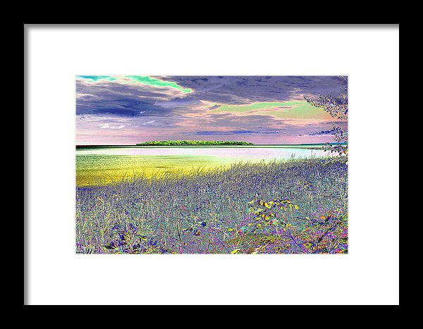 Au Train Island Lake Superior Michigan Print