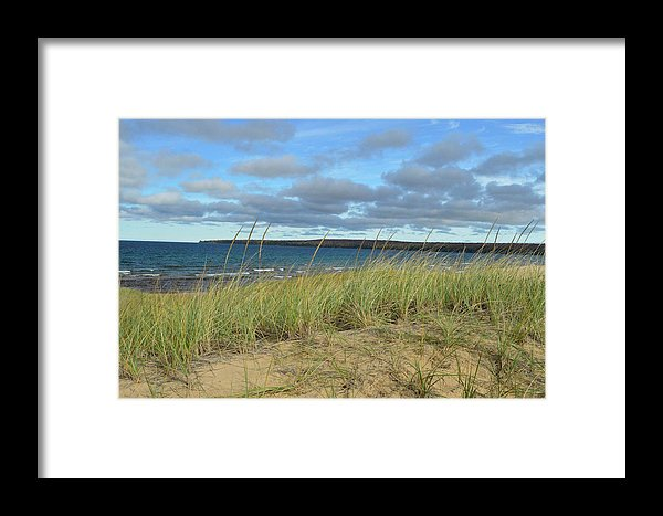 Cloudy Lake Superior Shoreline Print