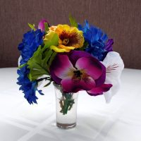 Glorious Mini Garden Silk Floral Arrangement