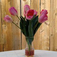 Tulips Silk Floral Arrangement