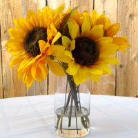 Sunflowers Silk Floral Arrangement