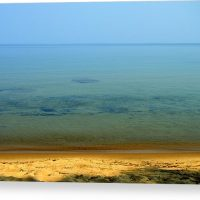 Clearness of Lake Superior Canvas Print