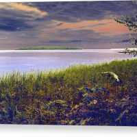 Fall Approaching Au Train Island Canvas Print
