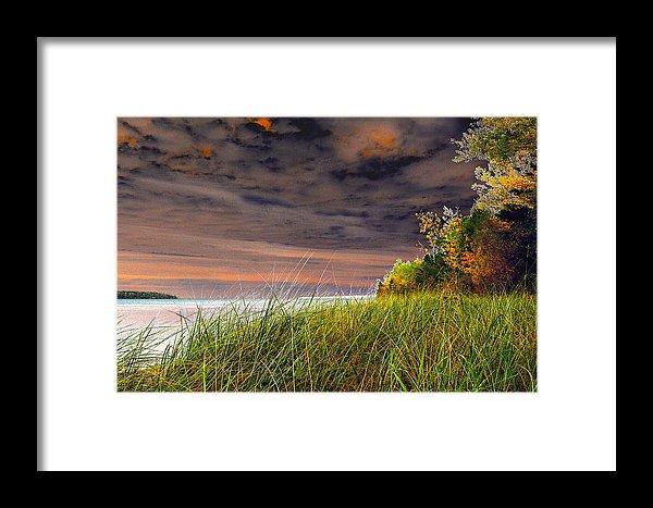 Fall On Lake Superior Print