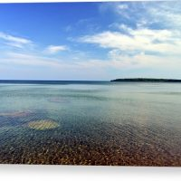 Lake Superior Rocks Canvas Print
