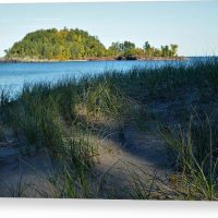 Little Presque Isle Island Canvas Print