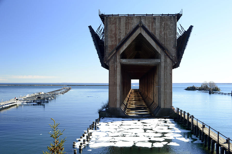 Marquette Ore Dock Cathedral Art