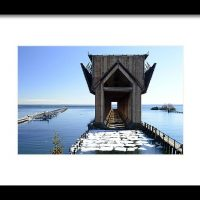 Marquette Ore Dock Cathedral Print