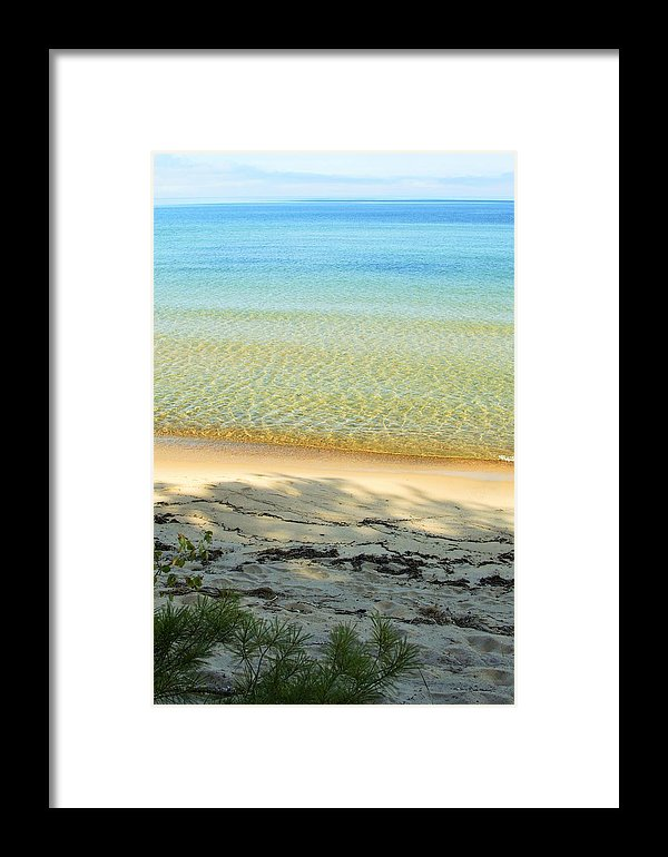 Lake Superior Sandy Blue Print