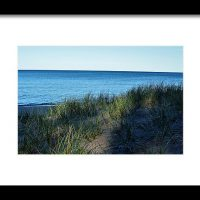 Shade On Lake Superior Print