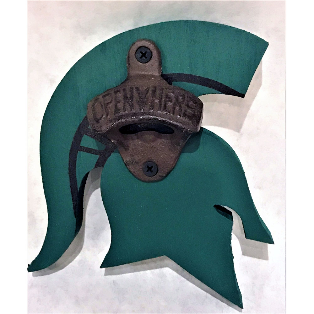 MSU Sparty Bottle Opener