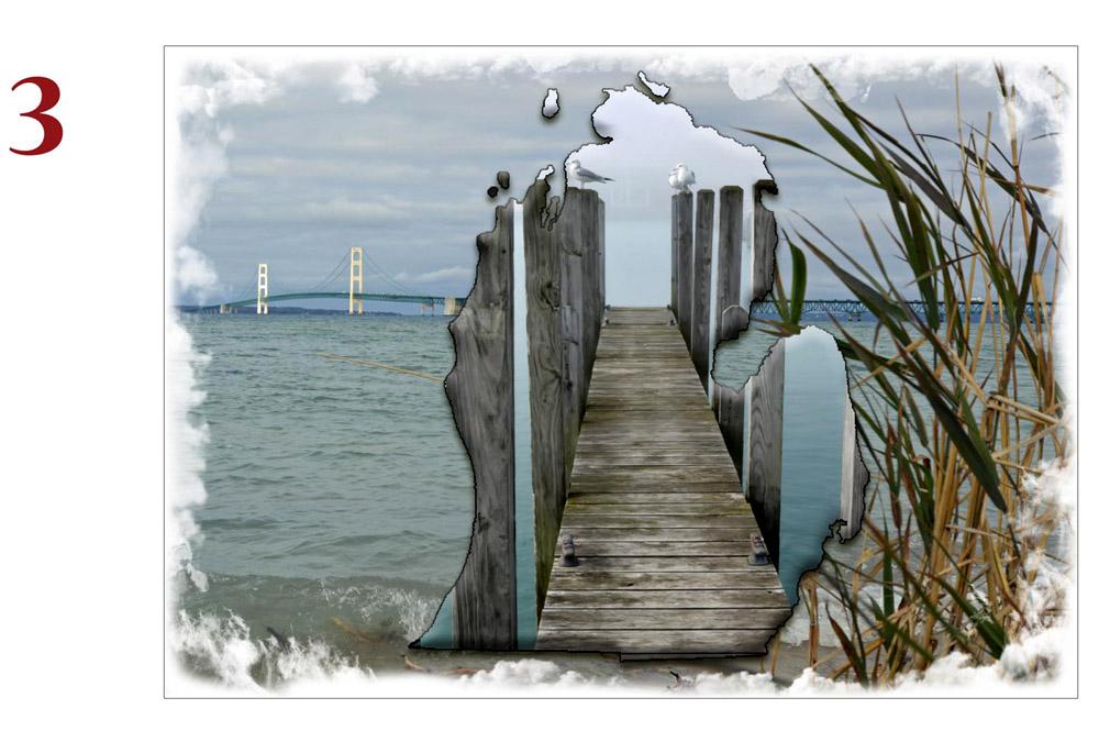 Michigan Mackinac Bridge Photo