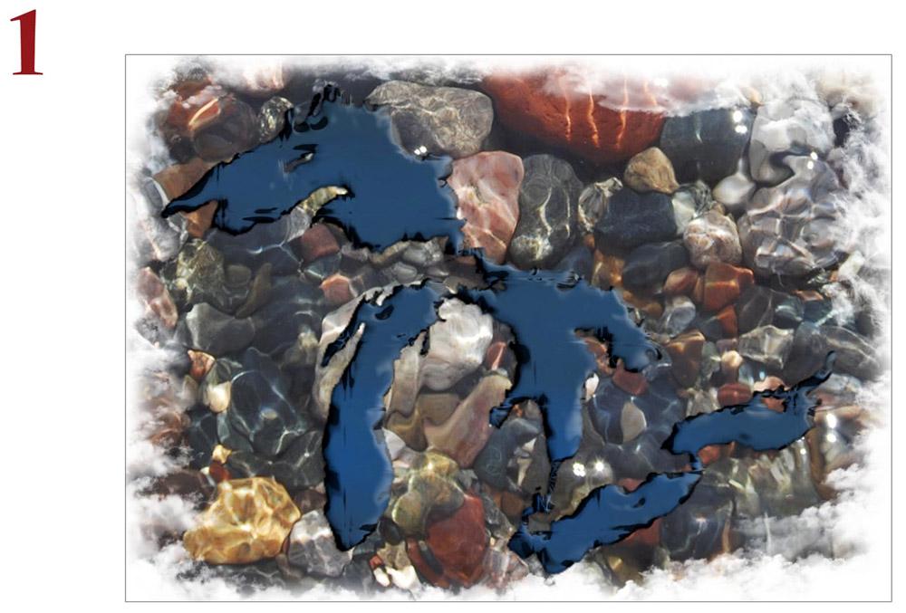Michigan Beach Stones Photo