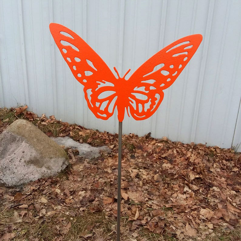 Butterfly Yard Stake