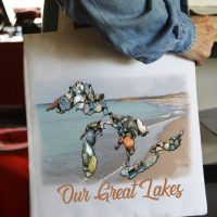 Michigan Tote Bag Our Great Lakes