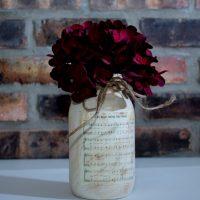 Personalized Sheet Music Jar