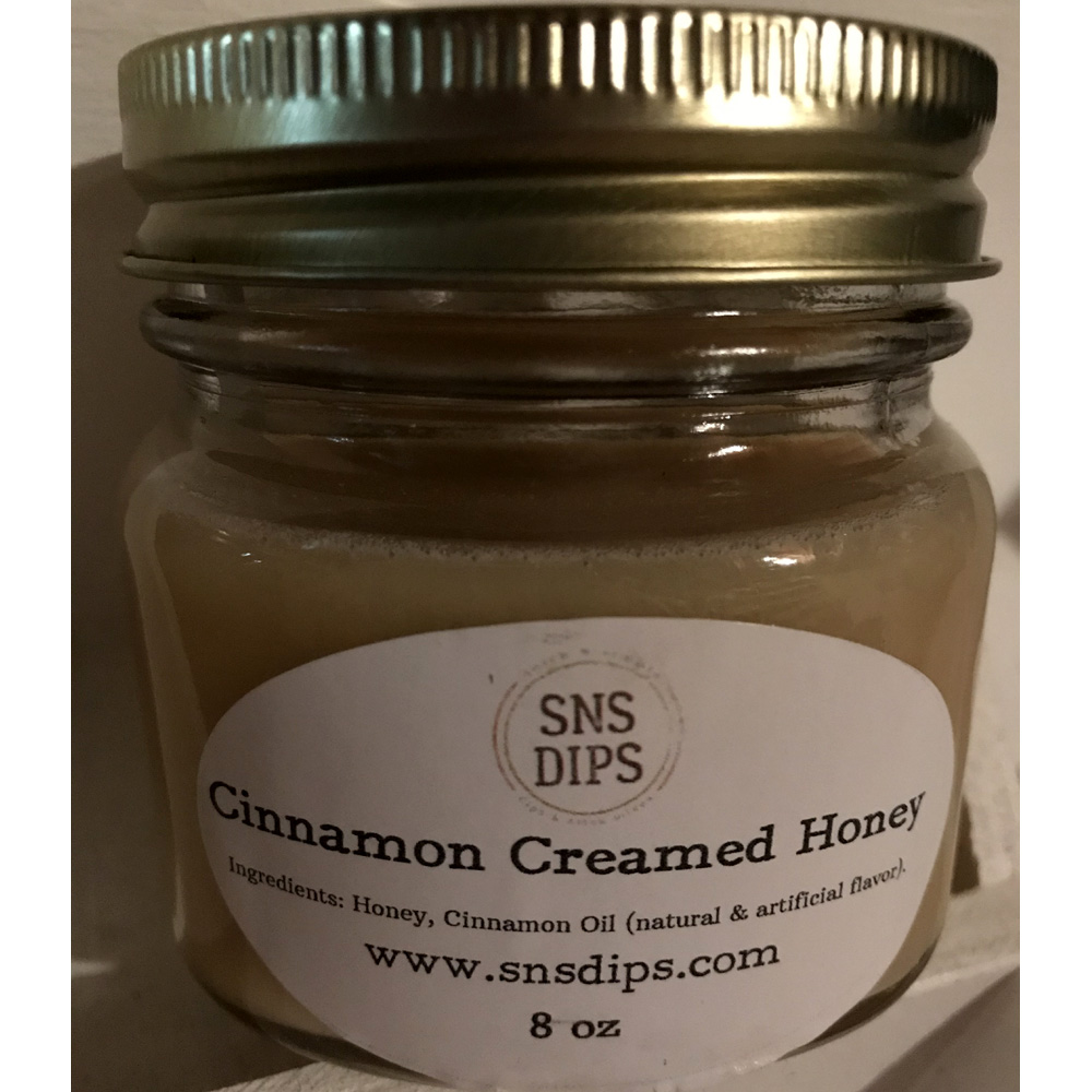 Cinnamon Creamed Honey