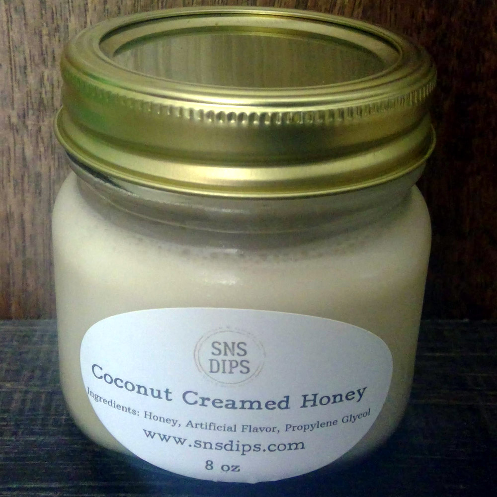 Coconut Creamed Honey