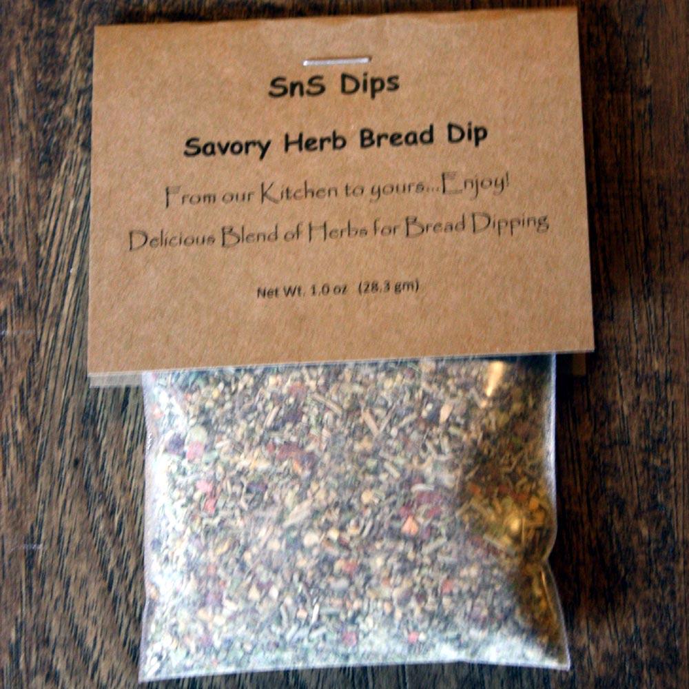 Savory Herb Bread Dip Mix
