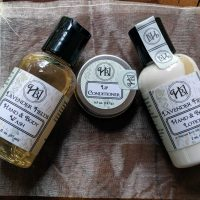 Lavender Fields Mini Gift Bag Bath & Body Set