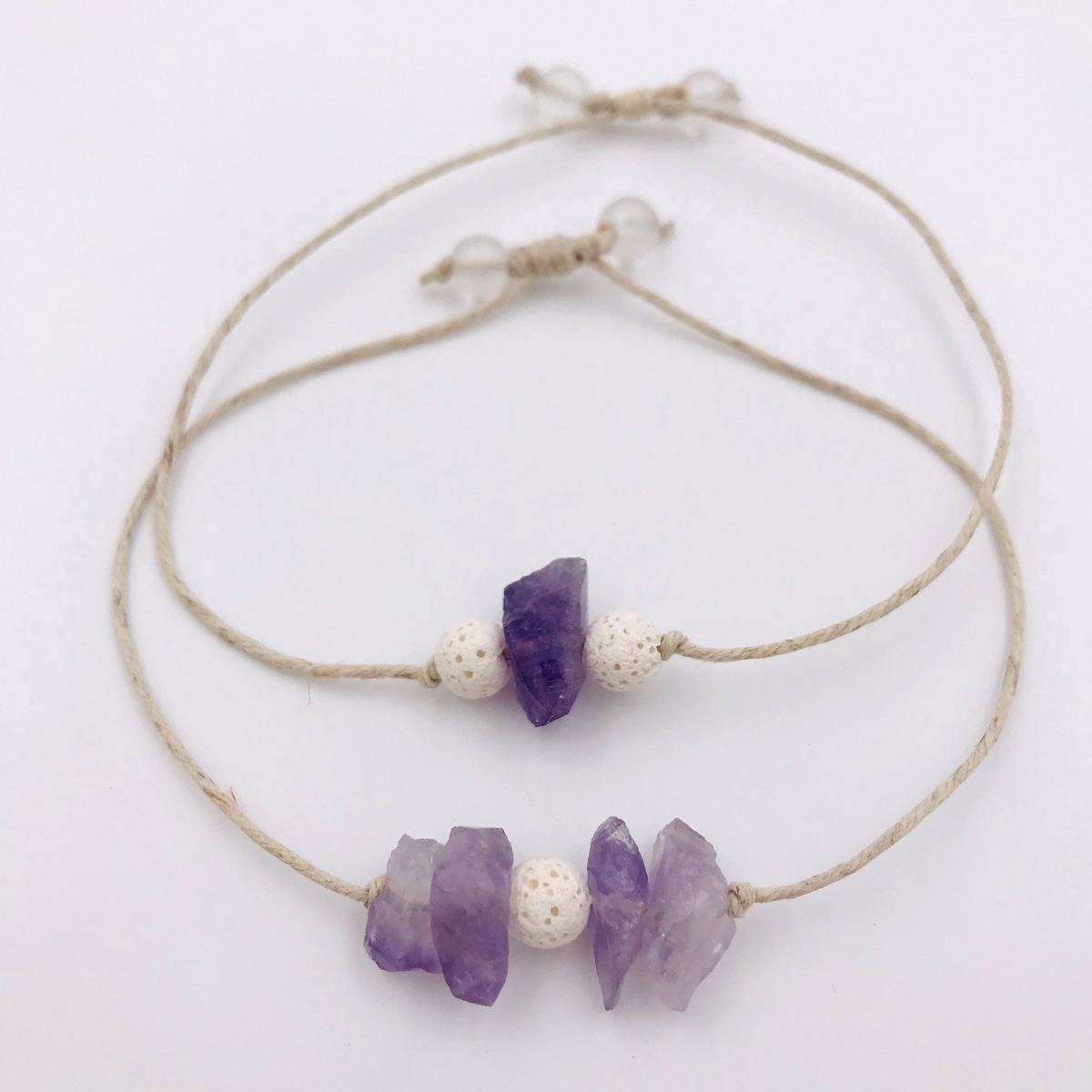 Amethyst Aromatherapy Bracelets