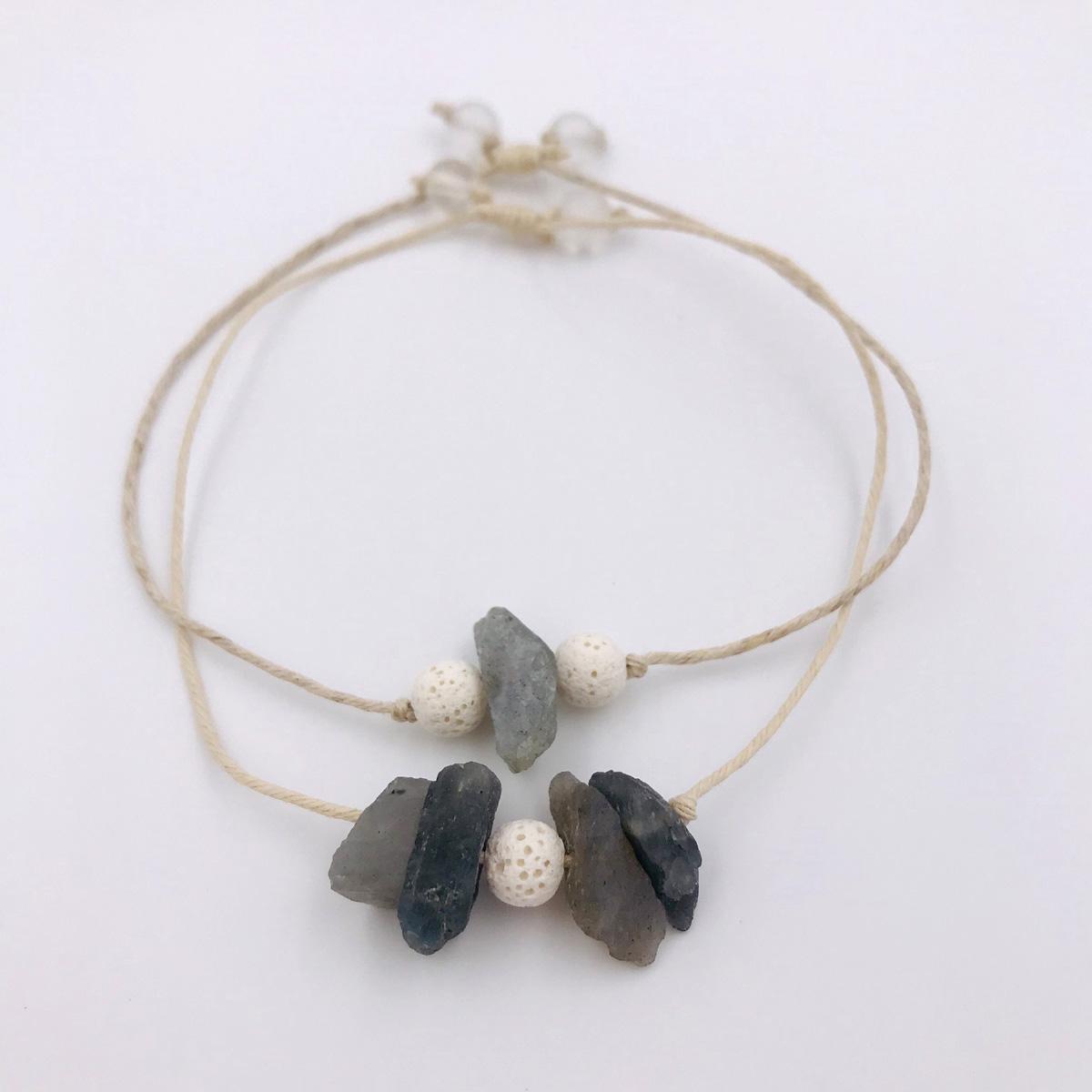 Labradorite Aromatherapy Bracelets