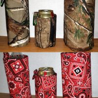 Camo Bandana Koozies On Sale