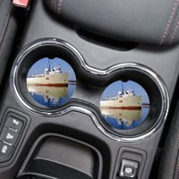 Great Lakes Freighter Car Coaster Set Cup Holder Coasters